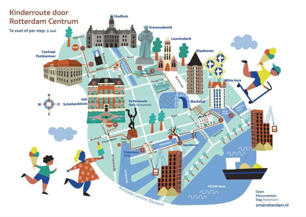 Kinderroute Rotterdam